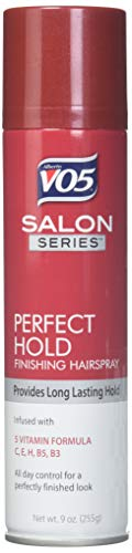 Vo5 Salon Series Perfect Hold Styling Hairspray, 9 Ounce - 6 per ()