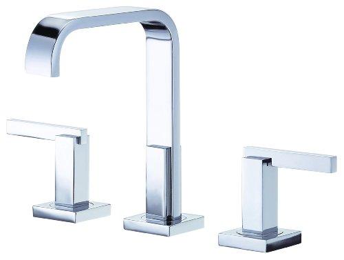 Danze D304544 Sirius Trim Line Two Handle Widespread Lavatory Faucet, Chrome - Sirius Sink Faucet