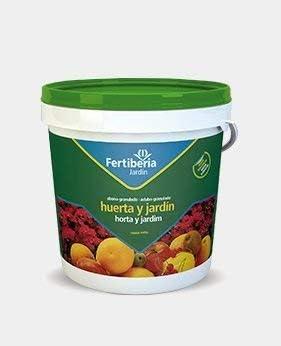 FERTIBERIA Abono granulado 5Kg para Huerta y jardín
