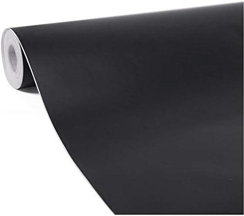 壁紙 壁紙シール 簡単貼付シール 無地 ウォールステッカー 防水 ブラックボード 黒板 幼稚園 DIY 部屋リフォーム シール 45cm×10m ブラック