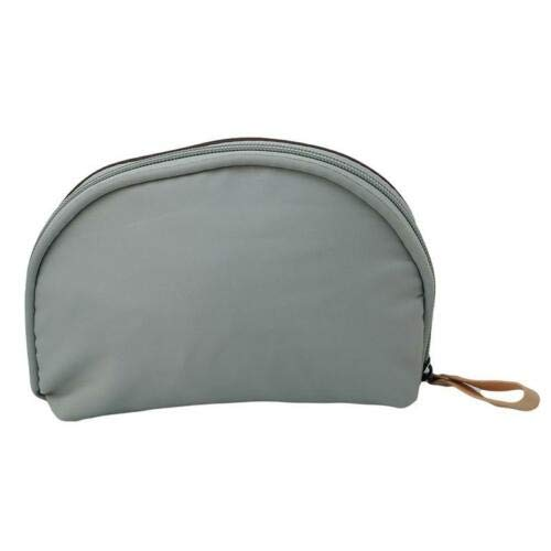 Makeup Bag Toiletry Case Wash Organizer Travel Cosmetic Storage Pouch W (Color - Brown Mint)