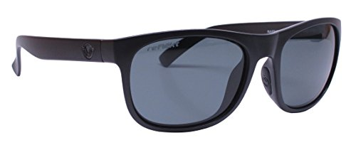 Unsinkable Polarized Unisex Nomad floating polarized sunglasses, Raven
