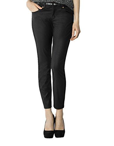 JOOP! Damen Jeans Mikrofaser Denim-Hose Unifarben, Größe: 29, Farbe: Schwarz