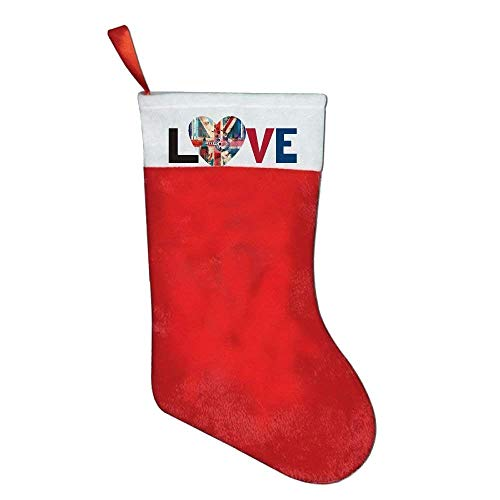 coconice London Love Felt Christmas Stocking Party Accessory by coconice