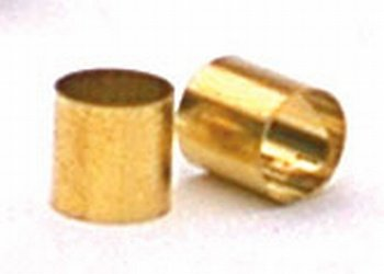 5 Brass Sleeves Convert Split Shaft Pot Shaft to Solid Allparts EP-0220-008 ()