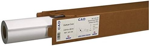 Rollo Papel para plotter Traslucida 56 gr. – 36x50mt (Canson 3222 – 107): Amazon.es: Oficina y papelería