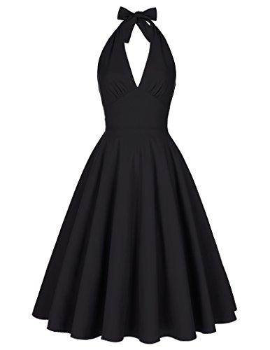 Belle-Poque-1950s-Vintage-Women-Swing-Party-Dresses