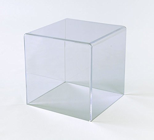 Acrylic Box Case | 5 Sided Display Box | Acrylic Cube 4Hx4Wx4D - 1/8