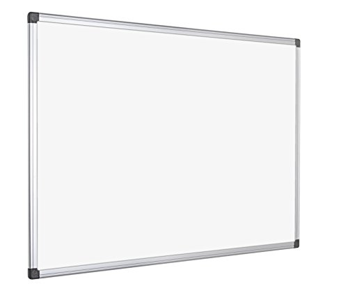 Bi-Office Maya Gridded Magnetic Aluminium Framed_p 150x100cm by Bi-Office