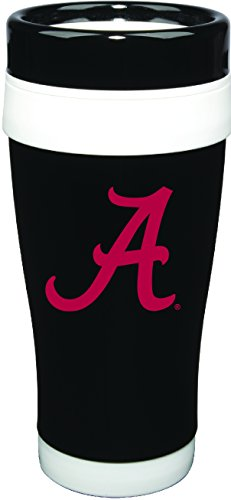 Nordic Promos NCAA Alabama Crimson Tide 16 oz Stainless Formula 7 Tumbler with Team Color Accent