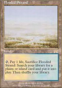 Magic: the Gathering - Flooded Strand - Onslaught - Foil by Magic: the Gathering