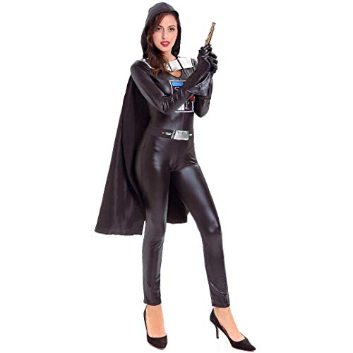 Cosplay Men and Women Halloween Costume Patent Leather Cloak Anime Cartoon Character Costume Ball Show, Keep Fxxking to Wristband -