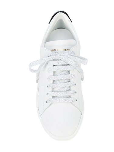 Laurent Sneakers Bianco 484928EXV606547 Saint Donna Pelle SZCd7czzR