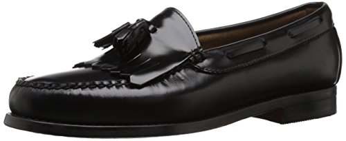 G.H. Bass & Co. Men's Layton Kiltie Tassel Loafer,Black,11.5 D US