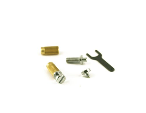 TONEPROS® LOCKING STUDS (TAILPIECE NOT INCLUDED) US THREAD CHROME (Locking Bridge Studs)