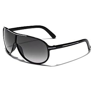 Retro Fashion Shield Aviator UV400 Men Women Sunglasses