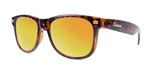 Knockaround Fort Knocks Polarized Sunglasses, Glossy Tortoise Shell/Sunset