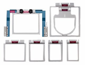 durkee 7n1 fast ez frame embroidery hoop set for brother baby lock prs100 ez frames