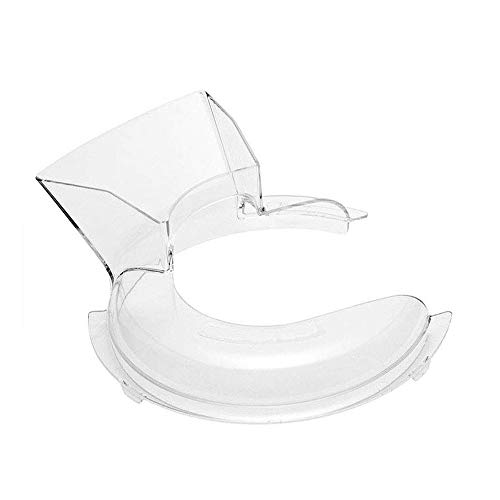 (VideoPUP Pouring Shield Fit for Kitchenaid- KN1PS 5 Quart Stand Mixer Parts & Accessories)