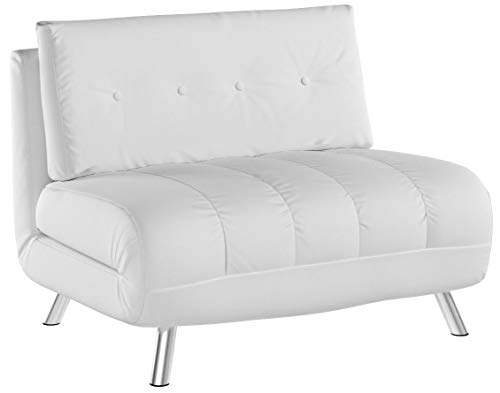 Gold Tampa Big Chair White