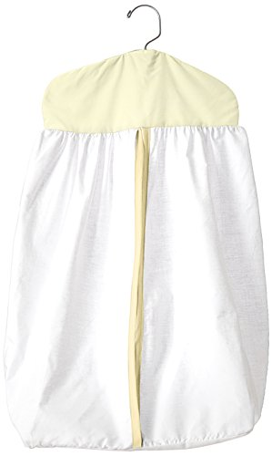 Baby Doll Bedding Forever Mine Junior Diaper Stacker, Yellow