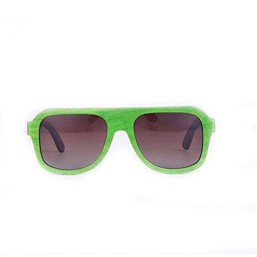 De Gafas HBF Sol Para 4 Hombres Polarizadas Estuche De Madera UV400 Con 1 Mujeres Pieza Gafas Y qwfqrRvP