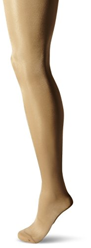 Berkshire Women's Shimmers Opaque Control Top Tights, Nude, 5X-6X