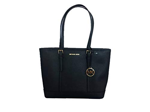 Michael Kors Jet Set Travel Saffiano Small Top Zip Shoulder Tote Bag