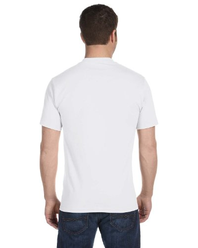 Hanes Mens 5.2 OZ. ComfortSoft Cotton T-Shirt(5280)-WHITE-2XL-3PK