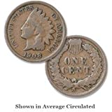 1908 U.S. Indian Head Cent / Penny Coin