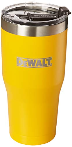 DEWALT Stainless Steel Tumbler, Yellow, 30 Ounce