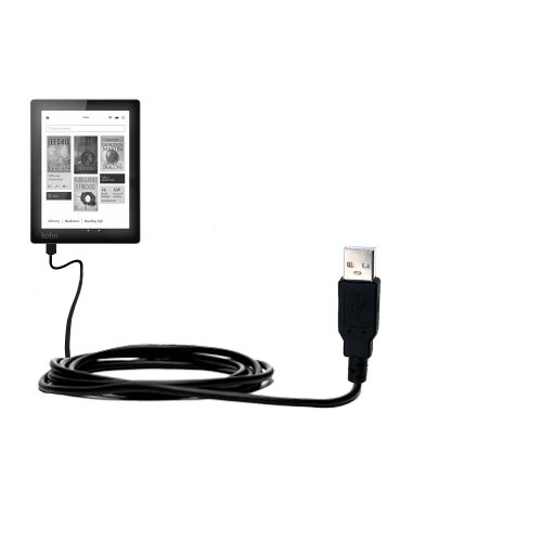 USB Data Hot Sync Straight Cable designed for the Kobo Au...