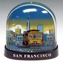 San Francisco Snow Globe Cable Car History