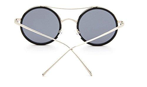 Ronde Uv Style Soleil Monture 1pcs Sunglasses Fashion Lunettes Violet Rayonnement bleu Protection lunettes De Demarkt Classiques À BR0fYwBq