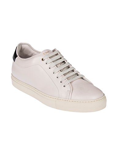 Paul Smith Mannen Stpcr266lea02 Witte Lederen Sneakers