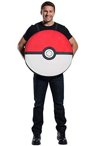 Rubie's Adult Pokemon Poke Ball Costume, Standard -