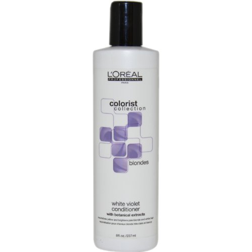 L'Oreal Colorist Collection Blondes White Violet Conditioner, 8 Ounce by L'Oreal Paris