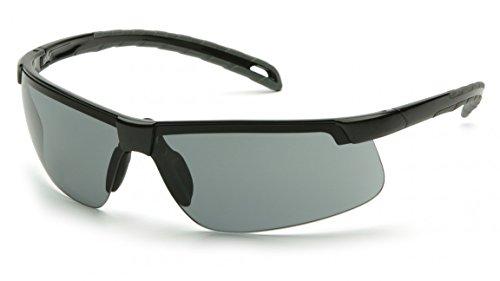 (12 Pair) Pyramex Ever-Lite Glasses Black Frame/Gray Lens (SB8620D)