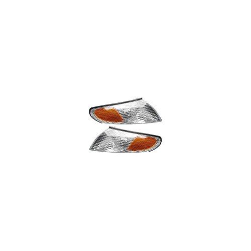 Evan-Fischer EVA20572054972 Corner Light Set Of 2 For Solara 99-01 Right and Left Side Included Assembly (Solara Light 01 Toyota Corner)