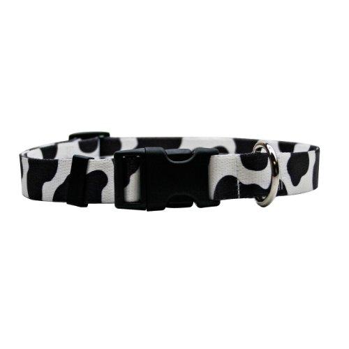 Yellow Dog Design Cow Dog Collar 3/8