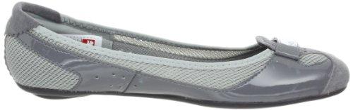 Puma Zandy Lona Zapatos Planos Steel Grey/Limestone Grey/Silver