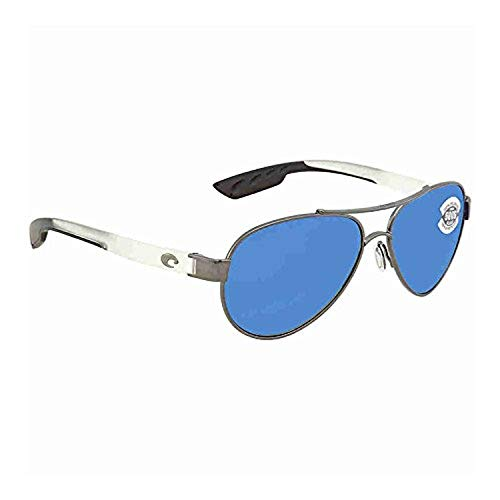 - Costa Loreto Gunmetal w/Crystal Temples/Blue Mirror Glass W580 & Carekit