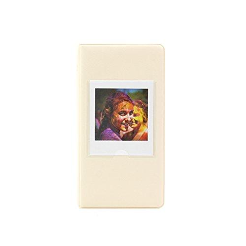 - Clover 64 Pockets Photo Album Book for Fujifilm Instax Square SQ10 SQ6 SP3 Instant Camera Films - Ivory