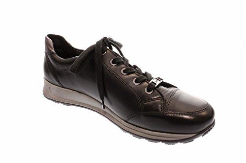 12 Noir Femmes Schwarz Basses Schwarz Ara Iron 44577 05 Iron Chaussures qR84wfZx