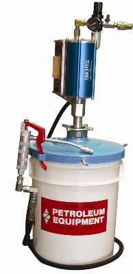 National-Spencer 3574A 60:1 Portable Chassis Grease Pump with 6' Hose for 35 lb.-50 lb. Pail by National-Spencer, Inc.