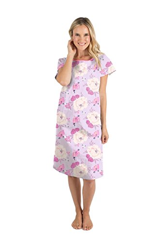 (Gownies - Designer Hospital Patient Gown, 100% Cotton, Hospital Stay (Large/X-Large, Anais))