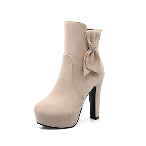 1TO9 , Boots Chelsea femme Beige