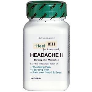 Maux de tête II 300 mg par Heel