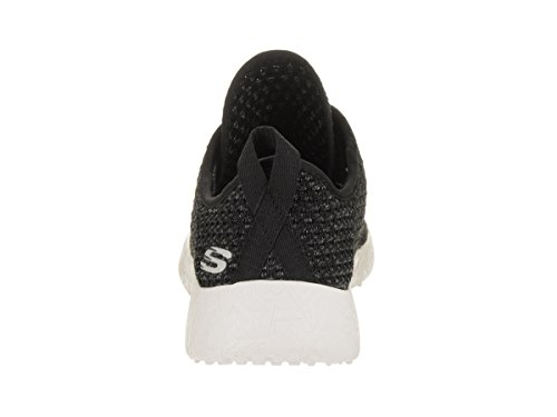 Skechers Sport Damen Burst City Scene Fashion Sneaker Schwarz