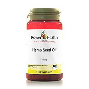 Power Health – Hemp Seed Oil Capsules – 300mg – 120 caps